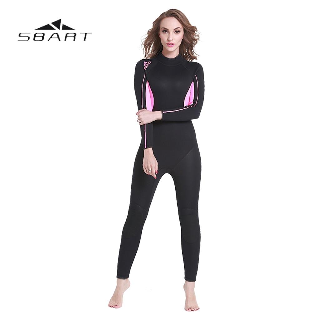 SBART 3mm neopreno traje de buceo cuerpo completo Spearfishing traje de  buceo Snorkeling traje mono mujeres trajes en Trajes de cuerpo de Deportes  y ocio en ... 2ee5335e7f35