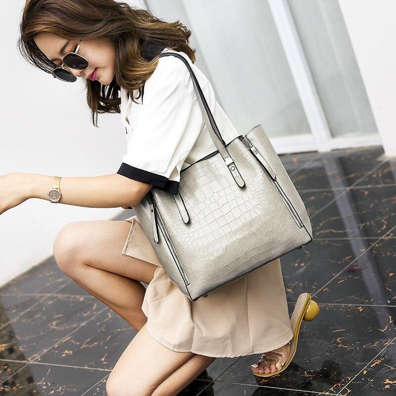 Designer mulher bolsas de couro genuíno sacos