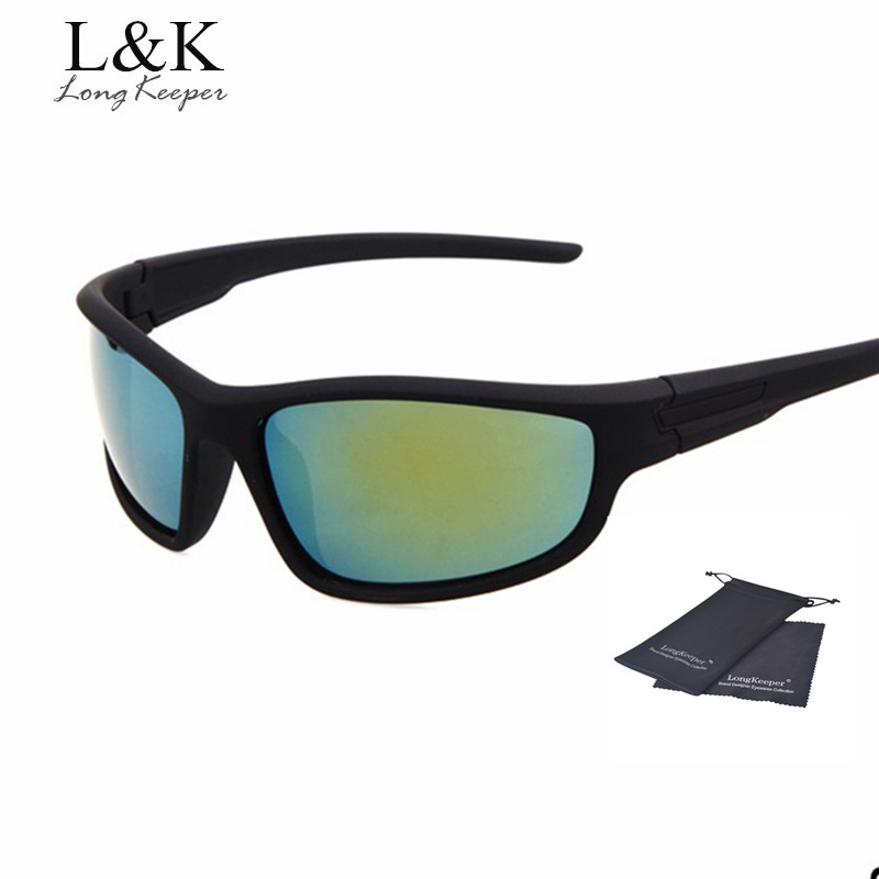 33310b964308 Long Keeper Sports Sunglasses for Men Outdoor Goggles Men Women Sun Glasses  Gafas de sol de