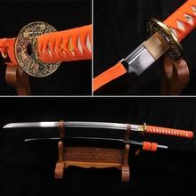 Fully Handmade Japanese Samurai Sword 9260 Spring Steel Full Tang blade Funcational Real Katana very sharp Collecation Sword