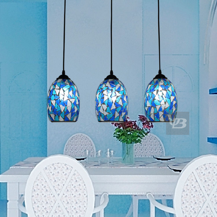 Fashion multithread bohemia mosaic stained glass pendant light fashion multithread bohemia mosaic stained glass pendant light dining room bedroom hanglamp e27 110 240v in pendant lights from lights lighting on aloadofball Choice Image