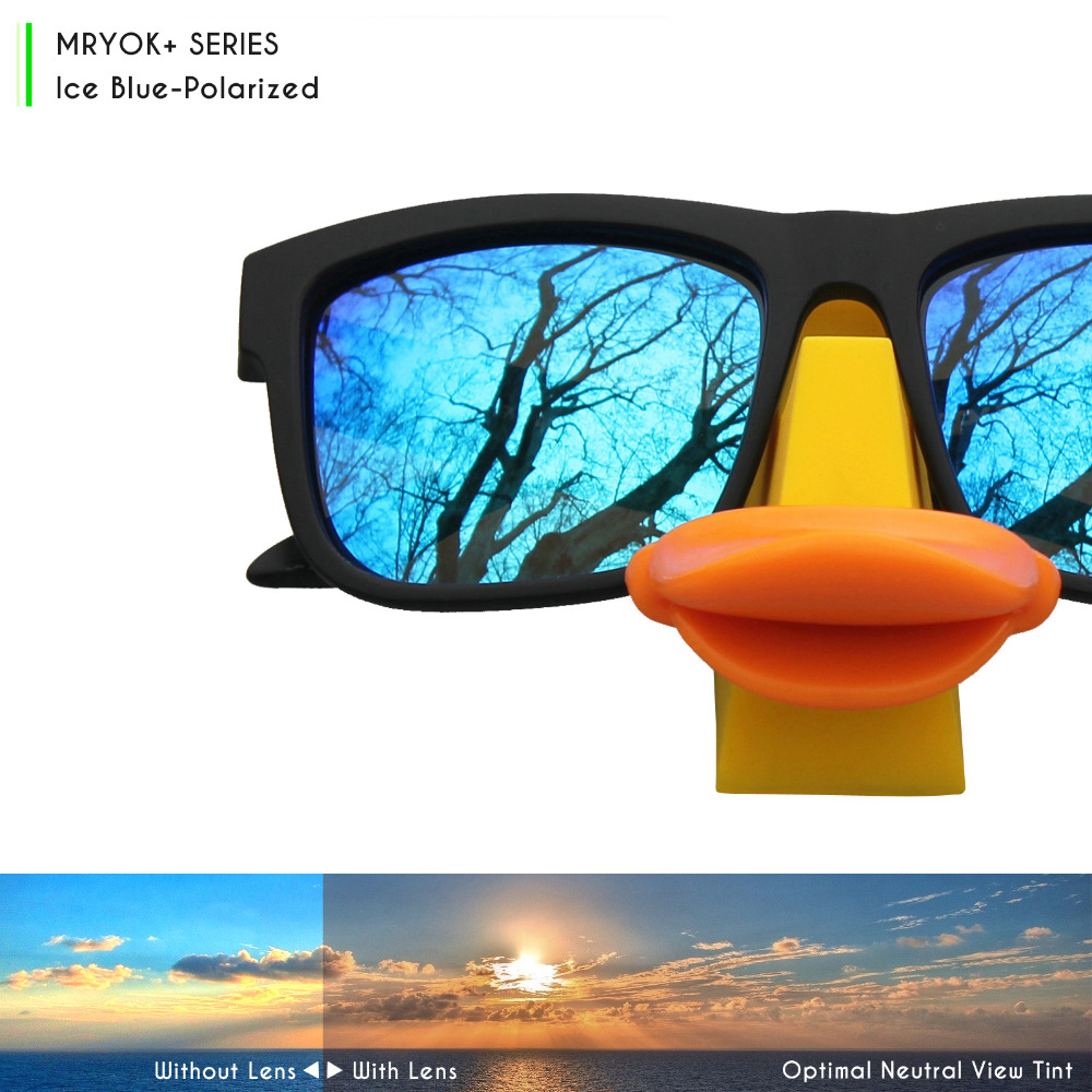 43329a55605 Mryok+ POLARIZED Resist SeaWater Replacement Lenses for Oakley Jawbreaker  Sunglasses Ice Blue-in Accessories from Apparel Accessories on  Aliexpress.com ...