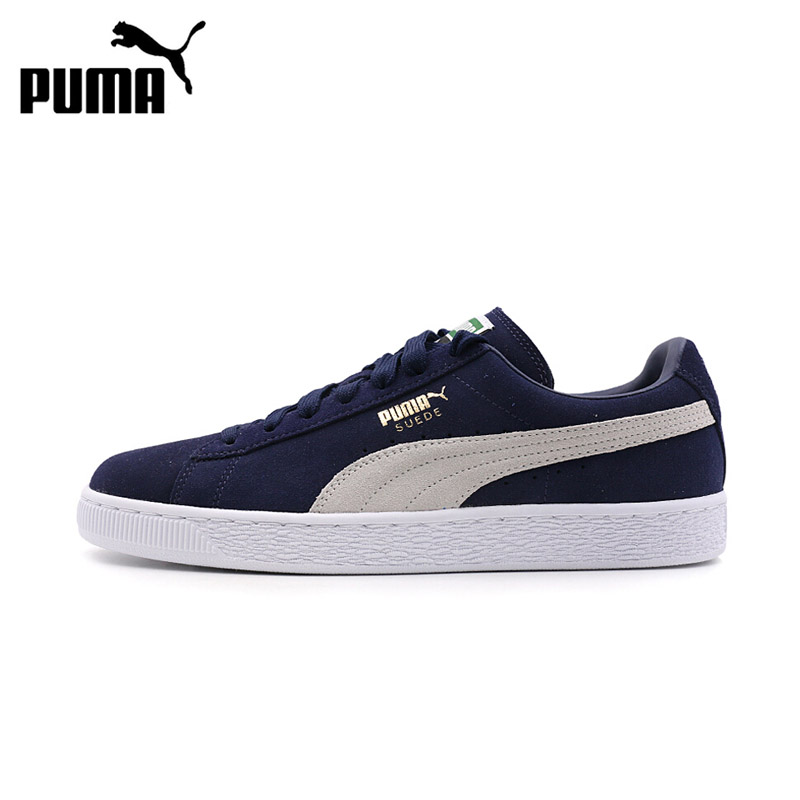 Original New Arrival Puma Suede Classic Men's Hard-Wearing Skateboarding Shoes Sports Sneakers original new arrival 2018 puma suede classic unisex s skateboarding shoes sneakers