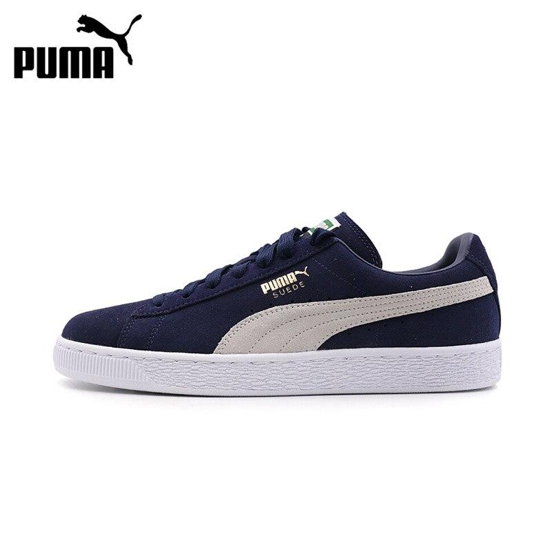 Original Nouvelle Arrivée Puma Suede Classic Hommes de Dur-Portant Planche À Roulettes Chaussures Sport Sneakers