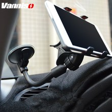 Universal Flexible Car Phone Holder 360 Degree Adjustable Mount Mobile For GPS iphone Smartphone 3.5-6 inch