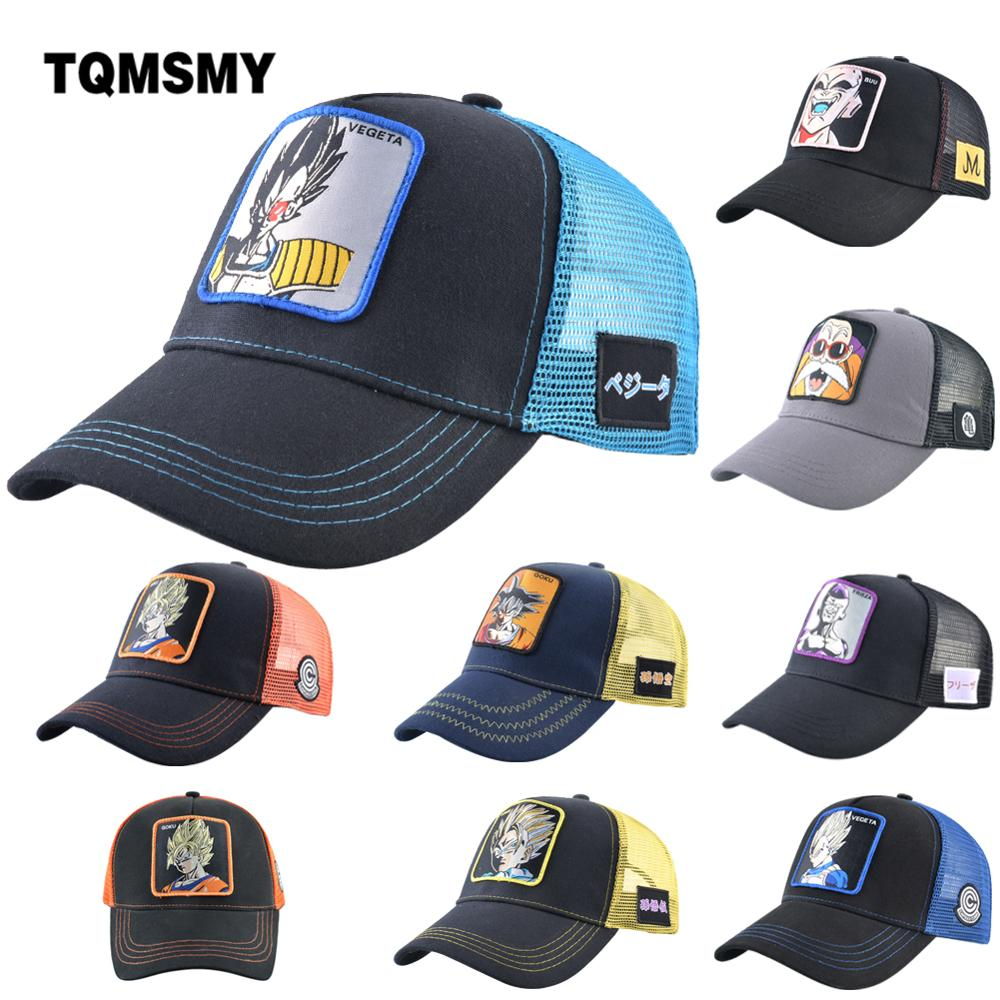 TQMSMY Dragon Ball   Baseball     Caps   Men Embroidery Cartoon Anime Role Hat Women Snapback Hip Hop   Caps   Dropshipping Wholesale Price