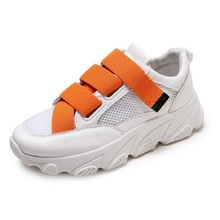 COZULMA Women Breathable Air Mesh Sports Shoes 2019 Candy Color Elastic Band Shoes Comfortable Non-slip Ladies Shoes Size 35-40 timeswood flat women shoe comfortable air mesh non slip female shoes breathable bowknot lightweight casual handmade size 35 40