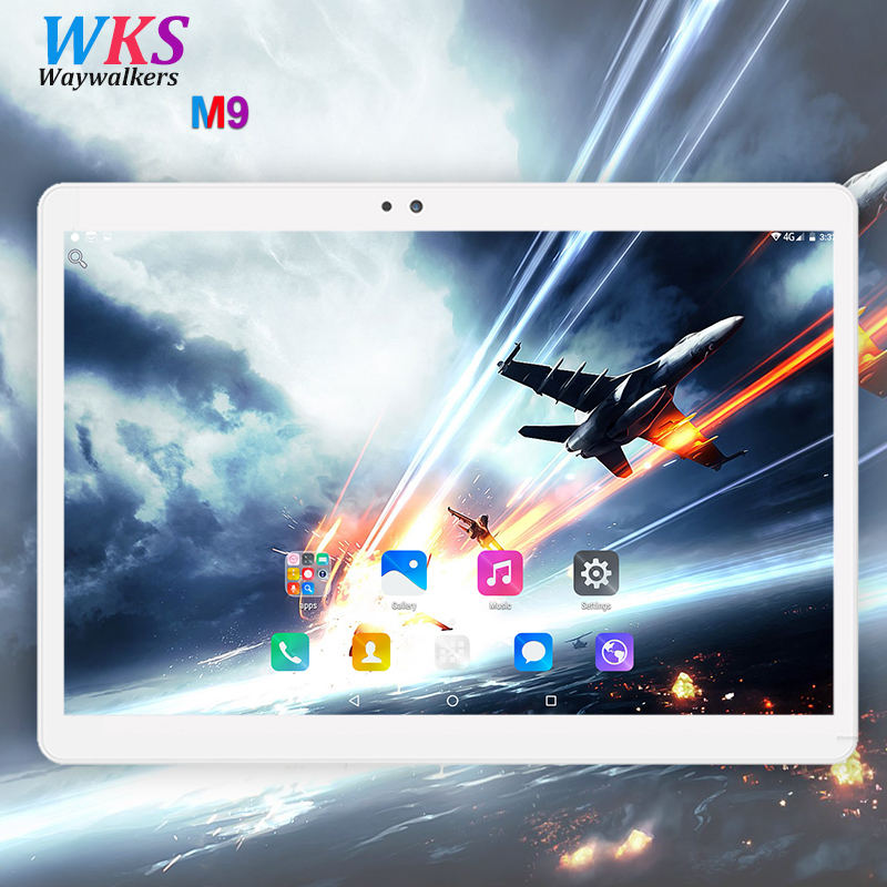 Free shipping 10.1 inch Tablet PC 3G/4G LTE android 7.0 Octa Core 32/64GB+4GB Dual SIM Card WIFI 1920*1200 IPS tablets 10 10.1