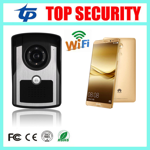 Good quality mobile WIFI video door phone video intercom system wireless door control wireless remote control video door phone стоимость