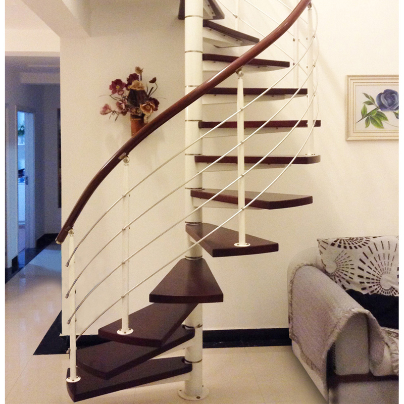 Modern Canada Used Wood Treads Spiral Staircase For Sale Buy At | Used Spiral Staircase For Sale | Vertical | Exterior | Contemporary | Wrought Iron | Curved