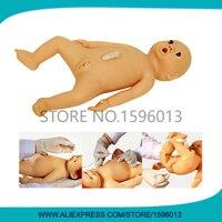 Яркий гибкий для кормящих симулятор, Новорожденный ребенок кукла, педиатрических Средства ухода за мотоциклом манекена