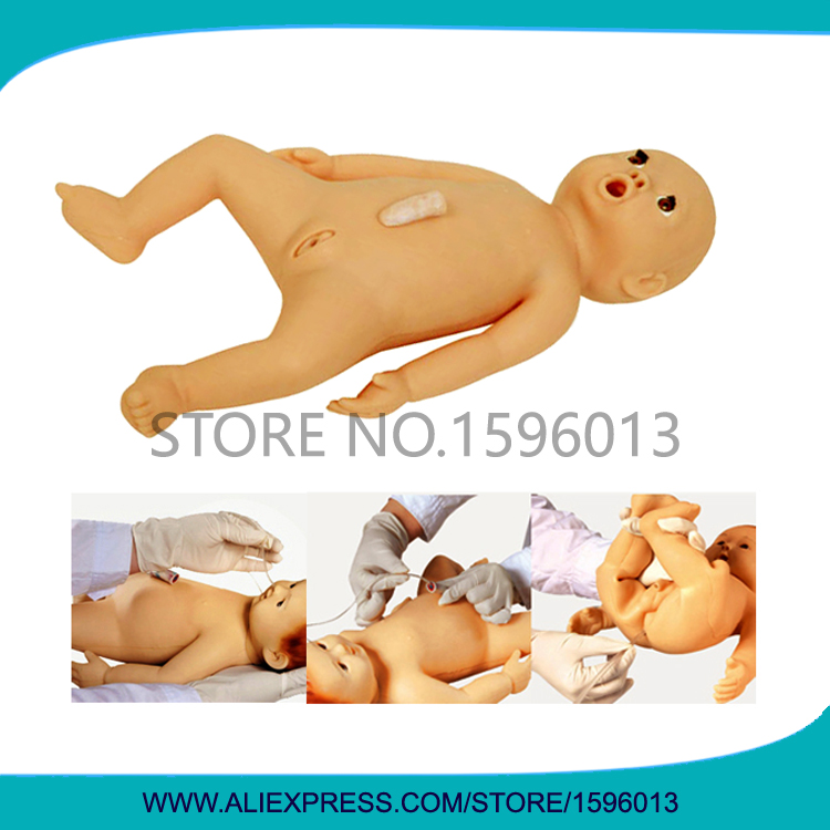 Vivid Flexible Infant Nursing Simulator,Newborn Baby Doll, Pediatric Care Manikin economic basic patient care manikin female nursing manikin nursing mannequin