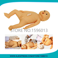 Vivid Flexible Infant Nursing Simulator,Newborn Baby Doll, Pediatric Care Manikin
