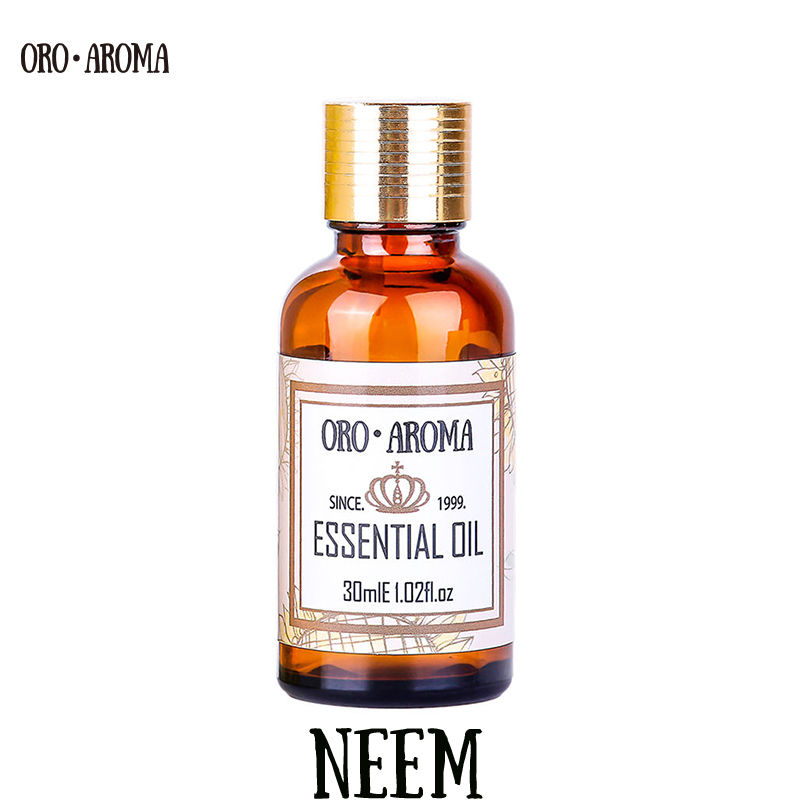 Famous brand oroaroma natural Neem essential oil Insecticidal Disinfection Inhibit the growth of insect pests Neem oil eco friendly management practices of insect pests in paddy