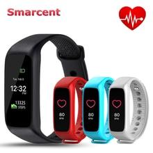 Новый smarcent L30t Bluetooth Smart Браслет монитор сердечного ритма полный Цвет Экран фитнес-трекер Smart Группа VS Xiaomi Mi band 2