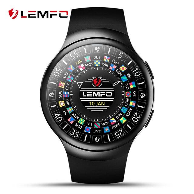 LES2 Android 5.1 наручные часы smart MTK6580 услышать скорость Фитнес трекер GPS WI-FI SIM 1 г + 16 г Bluetooth smartWatch Reloj inteligente