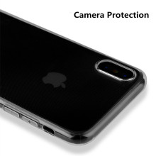 Back Cover Transparent Silicone for iPhone x