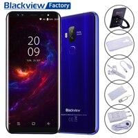Blackview S8 Fingerprint OTG Smartphone 5 7 HD 18 9 Screen 4 64GB Four Camera Cellphone