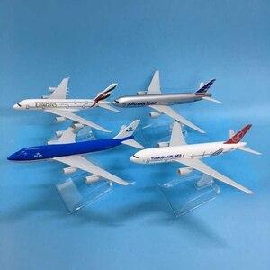 JASON TUTU Aircraft Model Diecast Metal 1:400 Emirates Airbus A380 16cm Airplanes Plane Model Airplane Model Turkey Boeing 777(China)