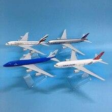 JASON TUTU modelo de avión de Metal fundido a presión, modelo de avión de Metal fundido a presión de 1:400 Emiratos, Airbus, A380, 16cm, modelo de avión, Turquía, Boeing 777