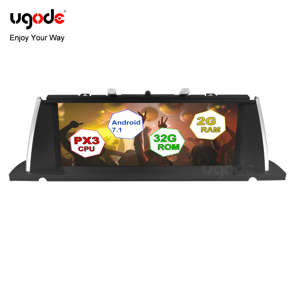 Ugode 10.25inch IPS Screen Android 7.1 Car Video Stereo PC GPS Navigation Multimedia system for BMW 5 Series GT F07 NBT CIC cars