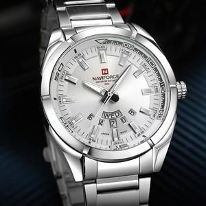 Image 3 - 2020 NAVIFORCE New Top Brand Men Watches Mens Full Steel Waterproof Casual Quartz Date Clock Male Wrist watch relogio masculino