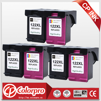 CP 122 Wholesale for HP122XL 122 Ink Cartridge for HP Deskjet 1050a 1050 2050 2050s 3050A 3052A 3054 1010 1510 2540 (3BK/3C)