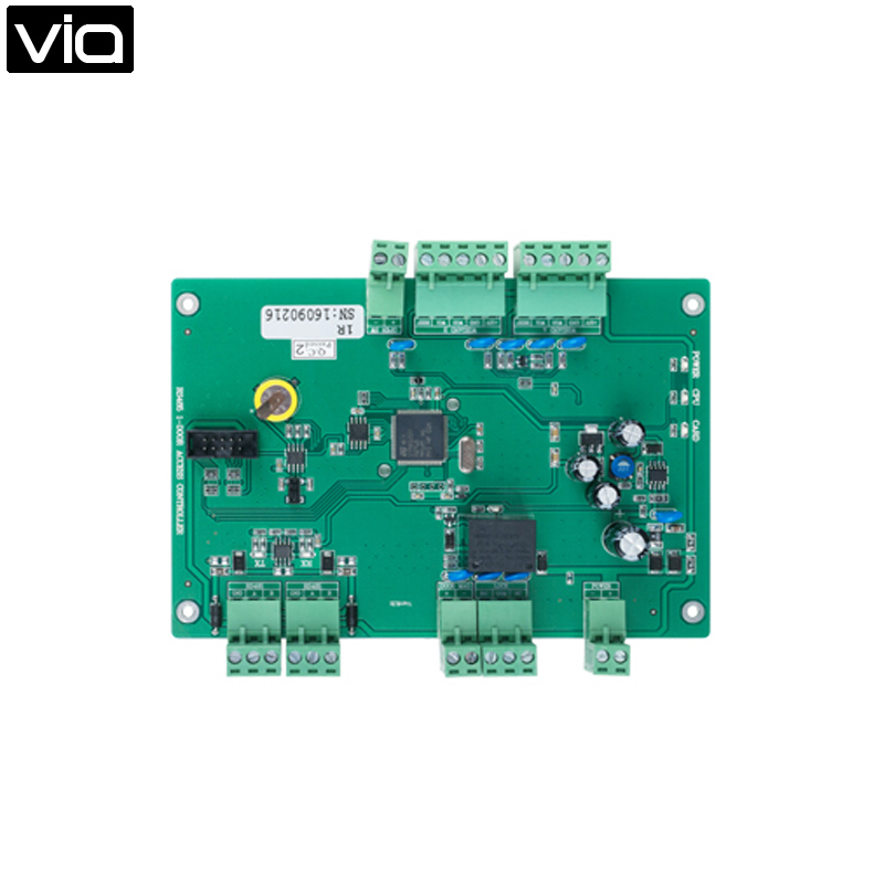 MC-5812R Free Shipping RS485 Single Door Access Control Board Manage One Door, 100,000 event logs, provides one 7A lock relay