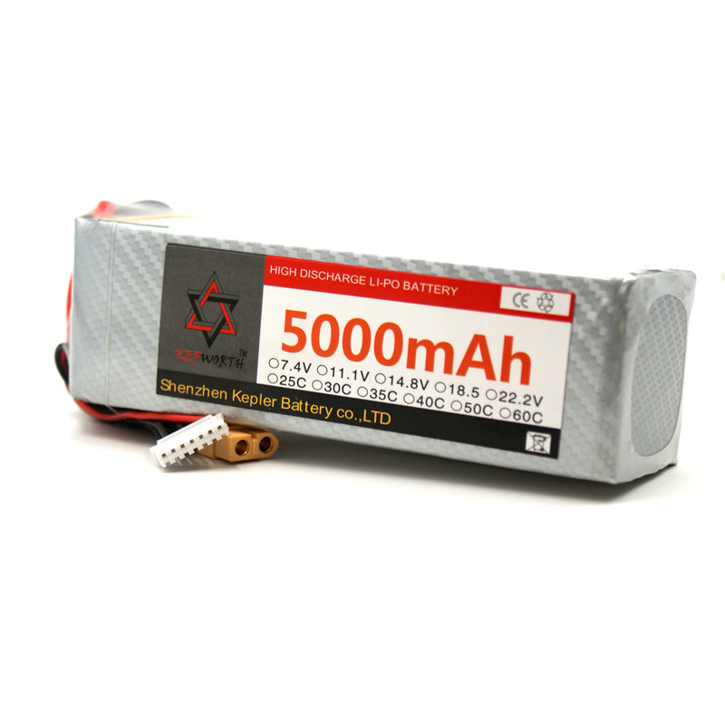 <font><b>6s</b></font> 22.2v <font><b>5000mAh</b></font> <font><b>Lipo</b></font> Battery RC Car Plane Boat Lithium Ion Polymer Battery For Truck Tank Drone Helicopter image