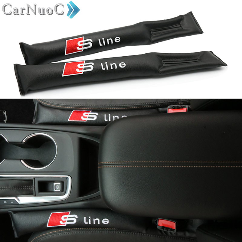 2PCS Car Styling Accessories Cushion Crevice Gap Stopper PU Leather Leakproof For AUDI S LINE A3 A4 B6 B8 B5 A6 C5 C6 TT Q5 Q7 turbo repair kit rebuild kits gt1749v 454231 5007s 454231 028145702h for audi a4 b5 b6 a6 c5 vw passat b5 avb bke ahh afn 1 9l