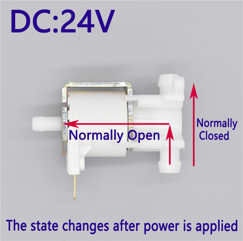 Electric 24V Mini Micro Solenoid Valve Air Gas Release Exhaust Discouraged 2 Position 3 Way Normally Open Normally Closed