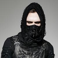 Punk Rave Men's Goth Rivets Faux Leather Masks S 182M
