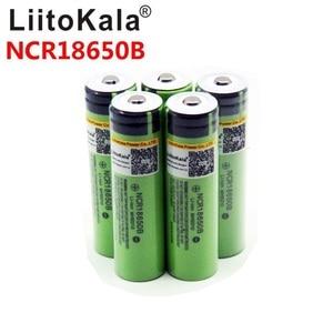 Image 3 - 8PCS liitokala 18650 3400mah חדש מקורי NCR18650B 3200 3400 סוללת ליתיום לפנס