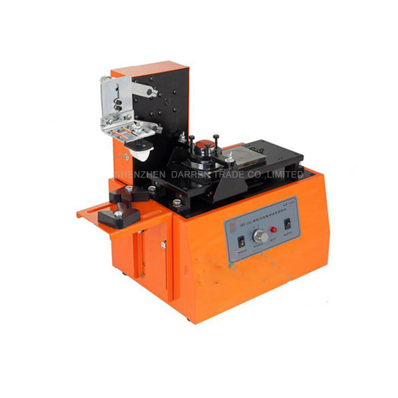 MY 260 110v 220V Environmental Desktop Electric Pad Printer Round Pad Printing Machine Ink Printer