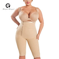 f2d9b4c85 Women S Strapless Shapewear Frim Control Post Surgery Open Bust Underwear  Full Body Shaper Thigh Slimmer