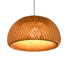 Modern Rattan Pendant Lights Bamboo Living Room Reading Master Bedroom Tiffany Style Decor Kitchen Hanging Lamps