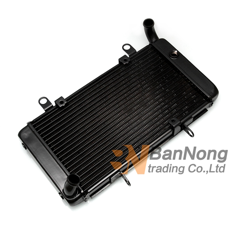 Motorcycle aluminum Cooling Replacement Water Tank Radiator Cooler For Honda CB1300 X 4 1998 2003 CB