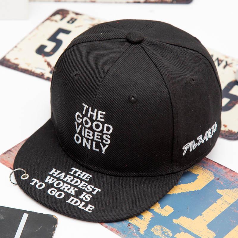 2018 Baumwolle Brief Die Gute Baseball Kappe Hip-hop-kappe Einstellbare Hysterese Hüte Für Kinder Jungen Und Mädchen 342