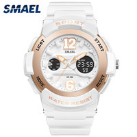 SMAEL S Shock Baby Fahsion G Girl Watch Gold Relogio Feminino Digital 1632 Lady Leisurely Montre