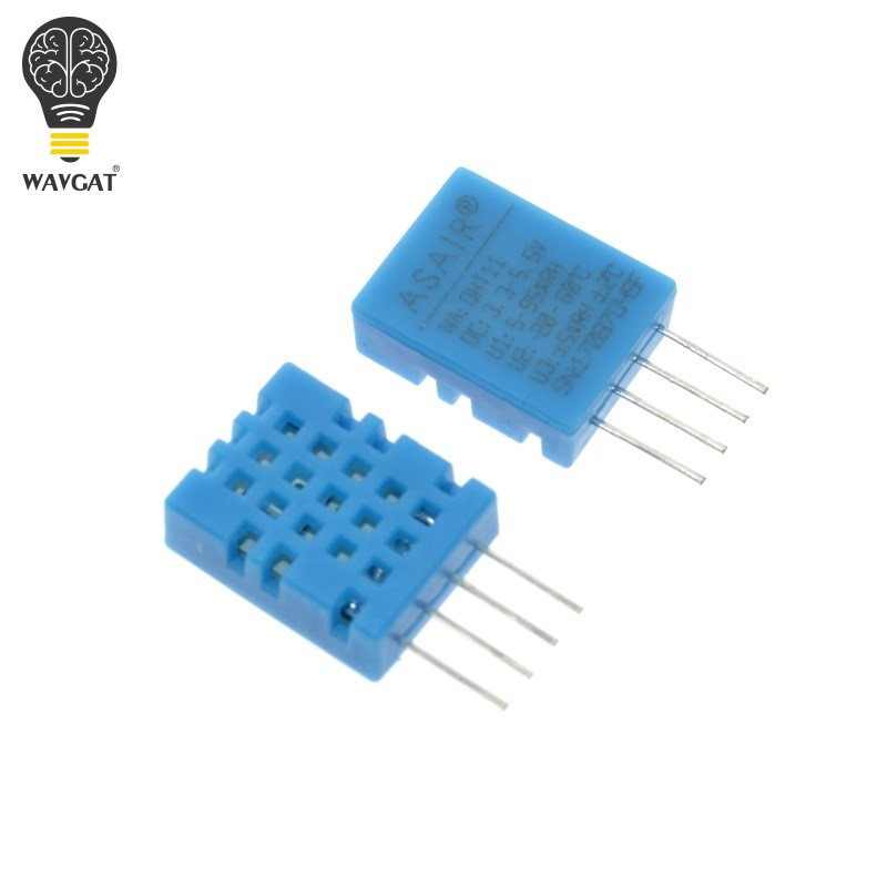 WAVGAT DHT11 DHT-11 Digital Temperature and Humidity Temperature Sensor for arduino DIY KITWAVGAT DHT11 DHT-11 Digital Temperature and Humidity Temperature Sensor for arduino DIY KIT