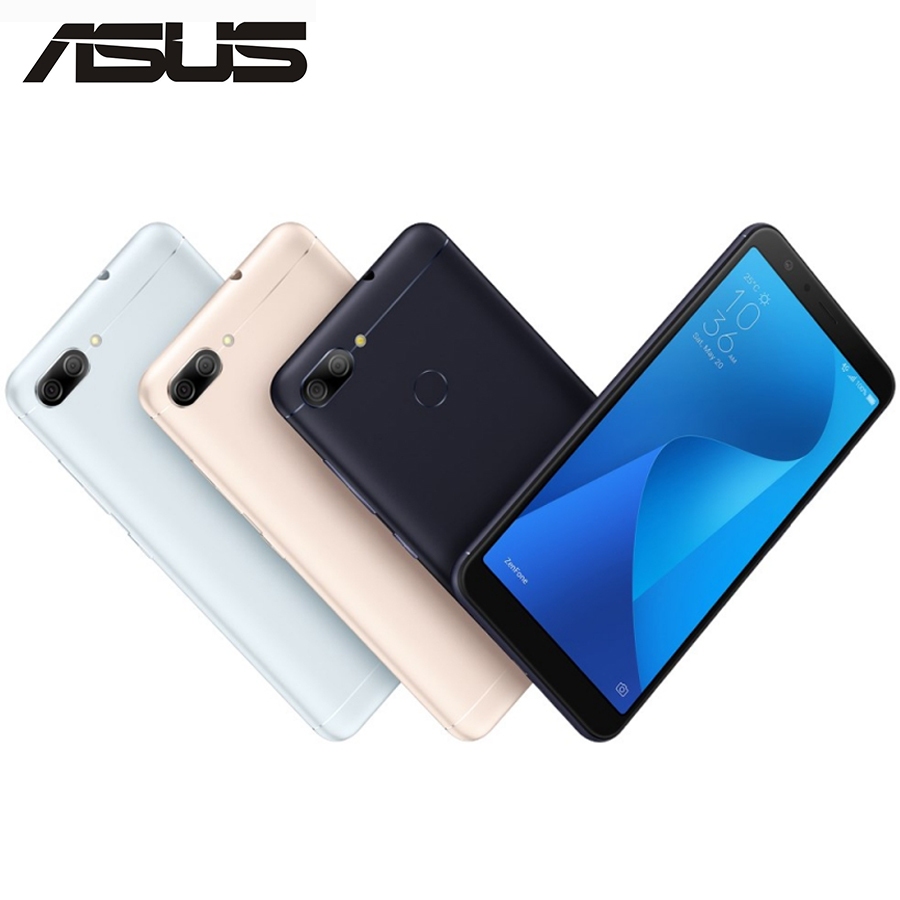"Global ASUS ZenFone Max Plus M1 ZB570TL 4G LTE Mobile Phone 5.7"" 3GB RAM 32GB ROM 2160x1080p 18:9 Full Screen 4130mAh Android 8"