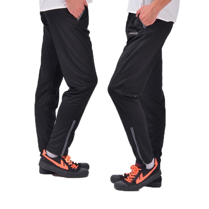 2017 hombres joggers Fútbol entrenamiento al aire libre Pantalones deporte  Correr senderismo jogging gym marca ropa Pantalones de chándal pantalon  homme c6486c328064