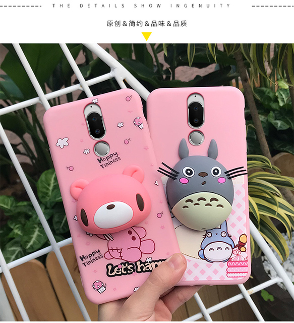 save off 47aa6 96220 US $9.09 8% OFF|Huawei Mate 10 lite Case,silicon luxury soft tpu 3d Doll  cartoon cute protective phone case for huawei nova 2i/honor 9i case-in  Fitted ...