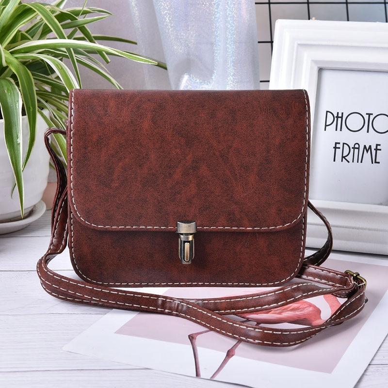 1PC Bullet Lock Messenger Bag Women Small Side Of Mini Mobile Phone Nice Bags Shoulder Bags 6