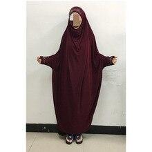 Muslim head coverings instant hijab bonnet abaya muslims outwear muslim prayer dress islamic dresses hijab dress #FB85