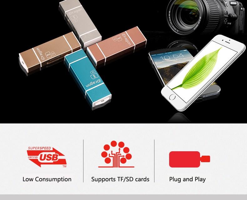 iDregon Card reader-2