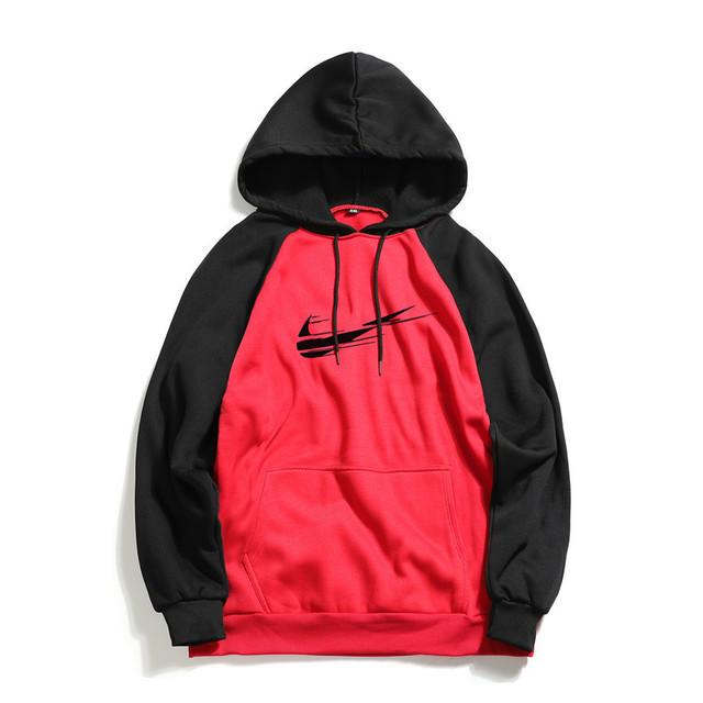 New Brand Men Long sleeve Hoodie Letter Printed Casual Hoodies Sweatshirts Mens Fleece Fashion Hip Hop Hoody Mens Sweatshirt