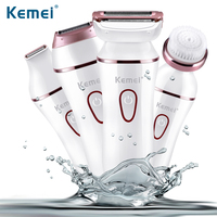 Kemei 7202 Multifunction 5 In 1 Women Shaver Wool Device Knife Electric Shaver Women Epilator Shaving