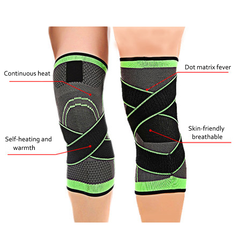 81ca5e0a7a Mumian 3d Pressurized Fitness Running Cycling Bandage Knee Support Braces  Elastic Nylon Sports Compression Pad Sleeve Ship Today-in Elbow & Knee Pads  from ...