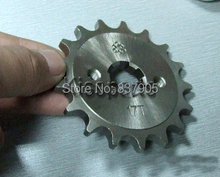 Motorcycle Front Sprocket For Engine CBF ORT 125 150cc 15 16 17 Teeth 428Chain Motorcycle Front